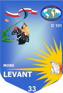 Fanion Fifty-One Mons Levant